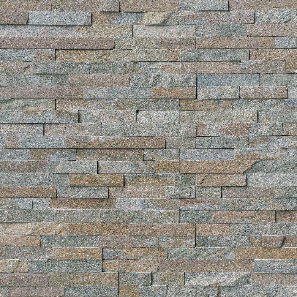 Amber Falls 6x12x6 Split Face Corner Ledger Panel