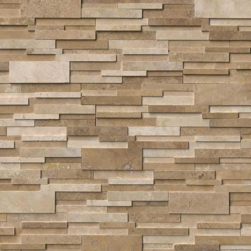 Casa Blend 6X12X6 3D Honed Corner Ledger Panel