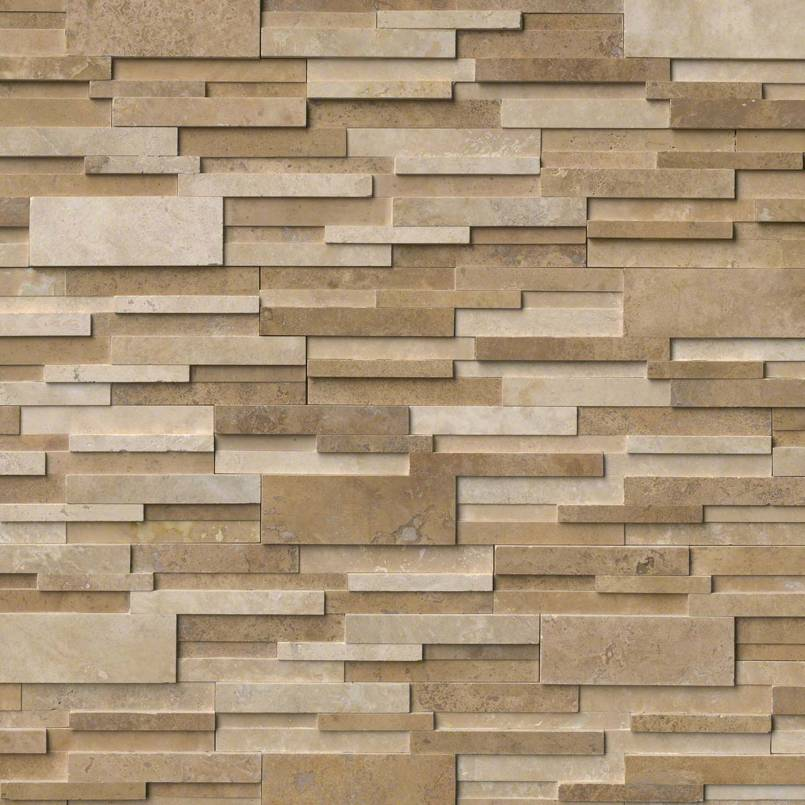 Casa Blend 6x18x6 3D Honed Corner Ledger Panel