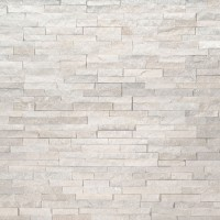 Arctic White 4.5X9 Split Face Mini Corner Ledger Panel