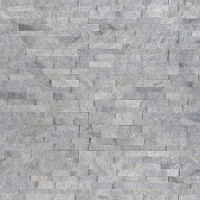 Sky Gray 4.5x9 Split Face Mini Corner Ledger Panel