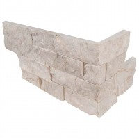 Tiara Beige 6X12X6 Split Face Corner Ledger Panel