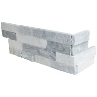 Alaska Gray 6x12x6 Split Face Corner Ledger Panel