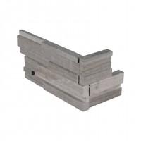 Gray Oak 4.5X9 3D Honed Mini Corner Ledger Panel