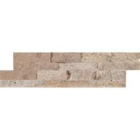 Roman Beige 4.5x16 Split Face Mini Ledger Panel