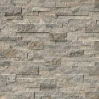 Trevi Gray Ledger Panel 6X24 Natural Travertine Wall Tile