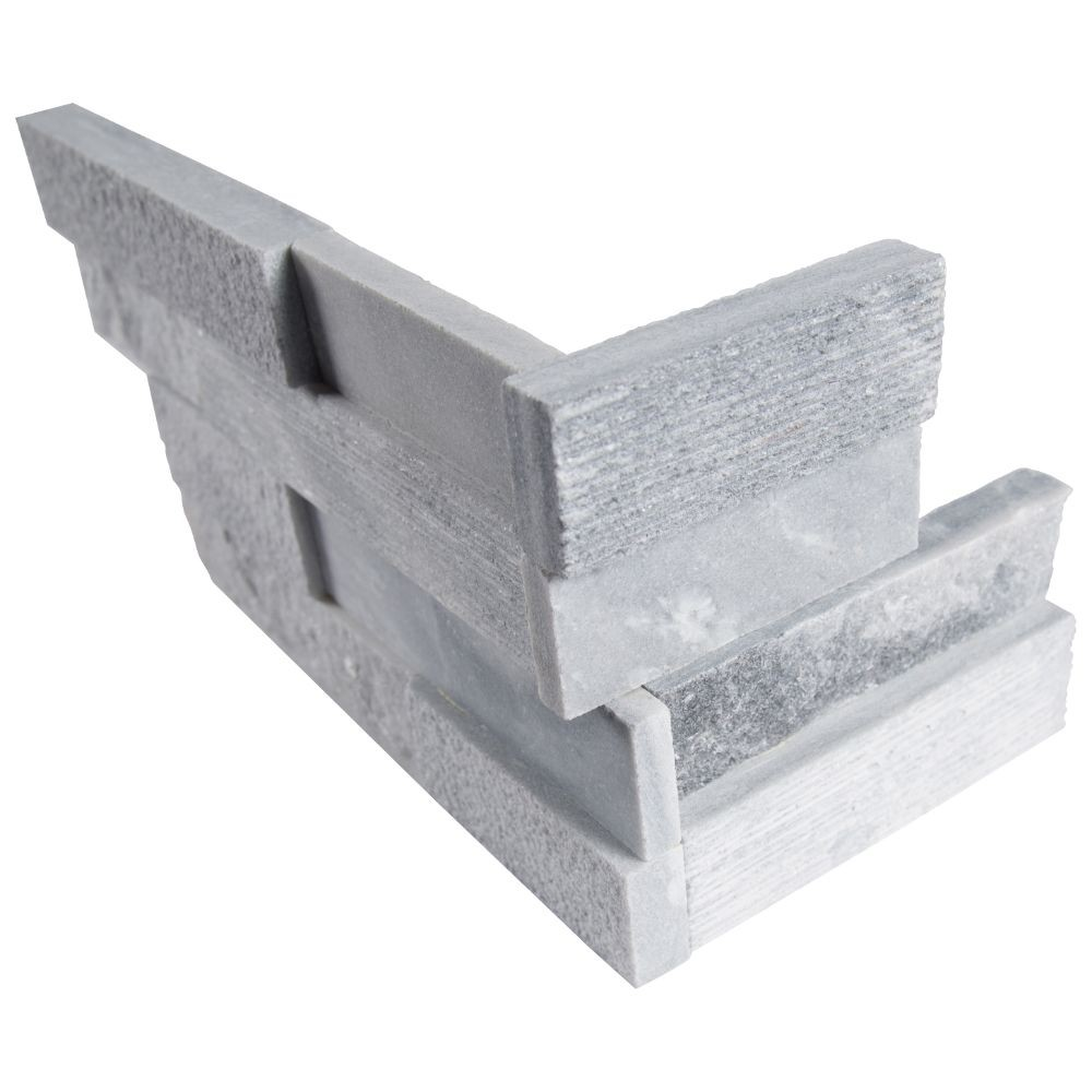 Alaska Gray 6x12x6 Multi Finish Corner Ledger Panel
