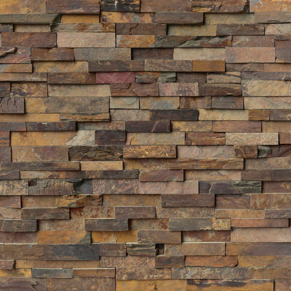 California Gold  6x18x6 Split Face Corner Ledger Panel