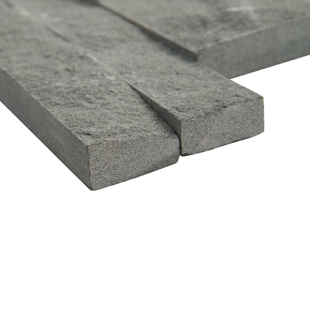 Mountain Bluestone 6x12x6 Split Face Corner Ledger Panel