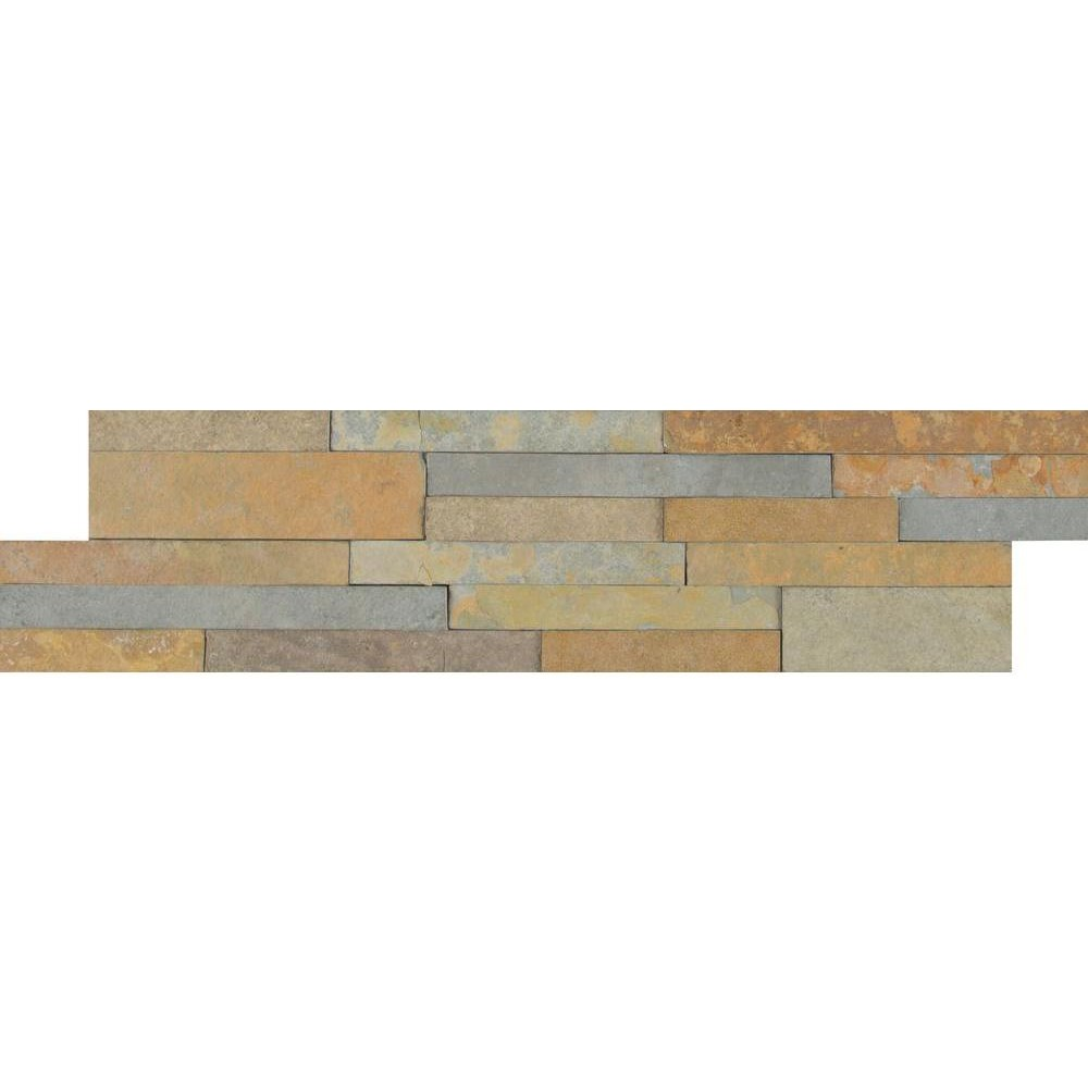 Sedona Fossil 6X24 Split Face Ledger Panel