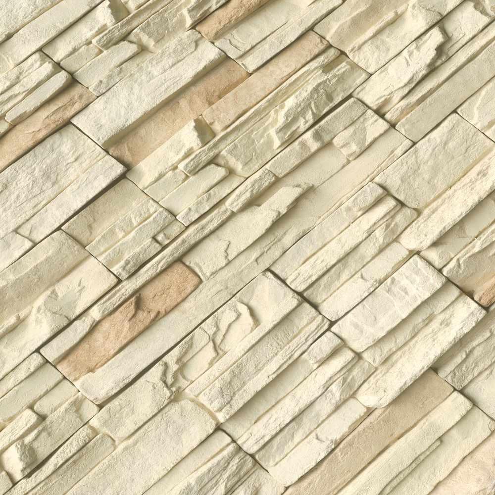 Terrado Peninsula Cream Natural Stacked Stone Veneer