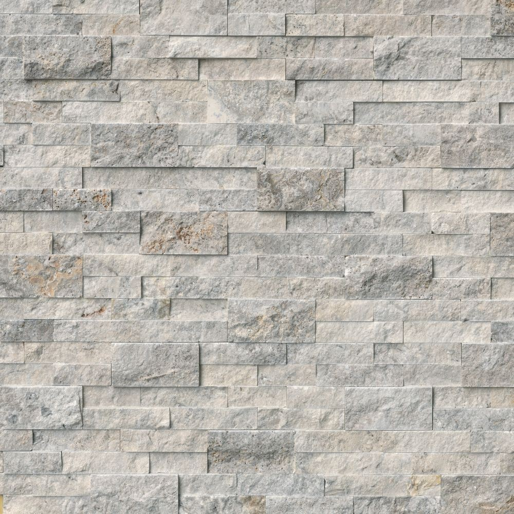 Trevi Gray 6X12X6 Split Face Corner Ledger Panel