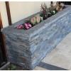 Charcoal Rust 6x12x6 Split Face Corner Ledger Panel