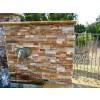 Golden White 6x18x6 Split Face Corner Ledger Panel