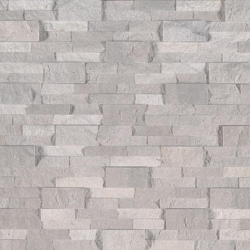 Iceland Gray 6X24 Split Face Ledger Panel
