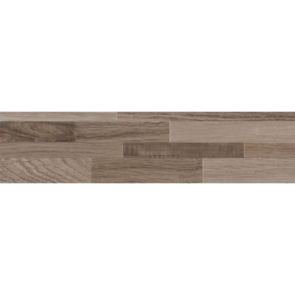 Rain Forest Taupe 6X24 Matte Ledger Panel