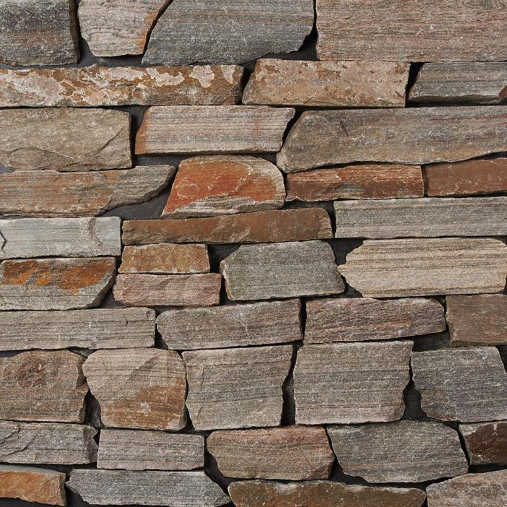 Safari Gold Natural Splitface Loose Stone Veneers