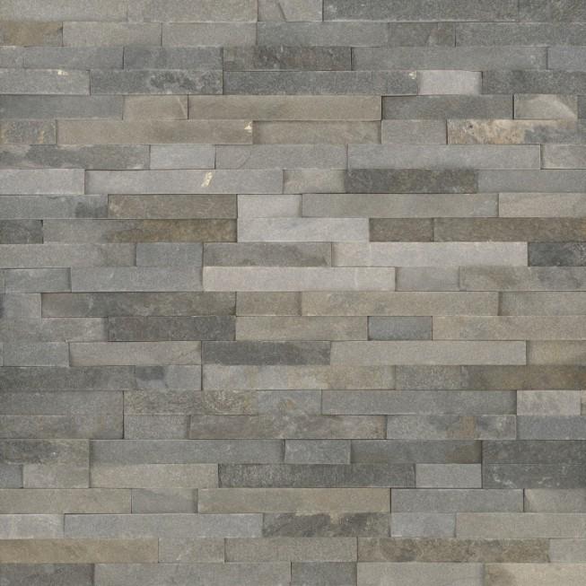 Sedona Grey 6X24 Split Face Ledger Panel
