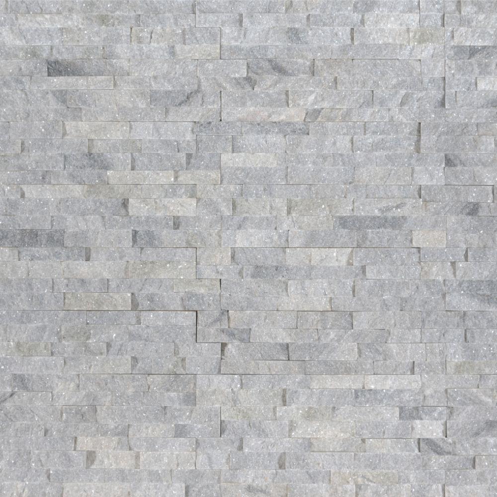 Sky Gray 4.5x16 Split Face Mini Ledger Panel